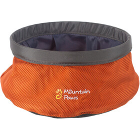 Mountain Paws Water Bowl S Foldable, orange